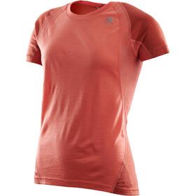 Aclima LightWool T-shirt de sport Femme, burnt sienna/red ochre